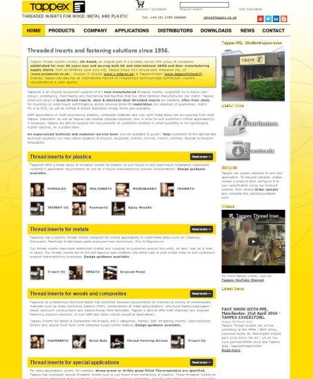 Tappex webiste