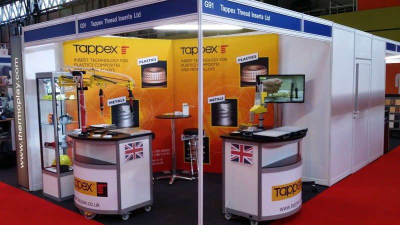 Tappex at Interplas 2017
